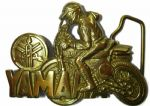 Yahama Motorcycle Belt Buckle - Solid Brass